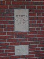 Stein am Pfarrer-Schniers-Haus