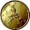 Italienische 20-Cent-Münze