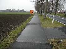 Radweg an der Kreisstraße 114