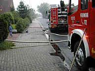 Feuerwehreinsatz in Lathen