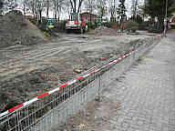 Baustelle Friedhof