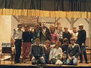 Foto aus der Chronik: Die Akteure des Sketchabends der KLJB am 14.11.86