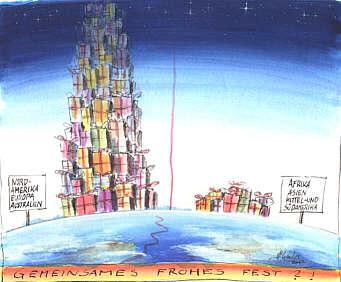 Karikatur von Hermann-Michael Gerdes