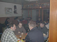 Blick auf die Teilnehmer