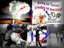 Im Kirchenboten veröffentlichte Collage von Erich Jäger