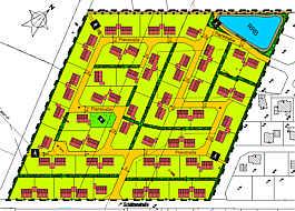 Bebauungsplan Nr. 16, Wippingen. Bitte anklicken zum Vergößern