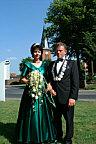Das amtierende Königspaar Hermann und Elisabeth Gerdes