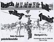 Flyer zum Turnier