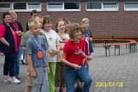 Grundschule Schuljahresabschluss 2003