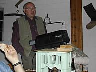 Josef Kimmann während seines Diavortrags