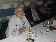 Gründungsdirigent Anton Grotegeers. Rechts daneben Dirigent Lambert Rehbock und Frau.