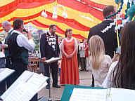 König Hermann und Königin Monika