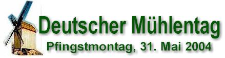 Deutscher Mühlentag - Logo