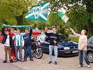 Werder-Fans in Wippingen