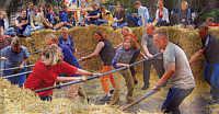 Teilnehmer des Maxi Kicker Turniers der KLJB Wippingen