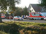 Unfall bei der Kreuzung Hackmann am 11.10.05