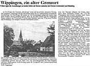 Zum Ems-Zeitungs-Artikel von 1955