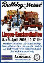 Plakat für Bulldog-Messe