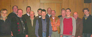 Jäger und Vorstand der Jagdgenossenschaft Wippingen