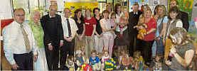 Die Wippinger Eltern-Kind-Gruppe hat beim Wettbewerb der KEB ihren offenen und einladenden Charakter zum Ausdruck gebracht