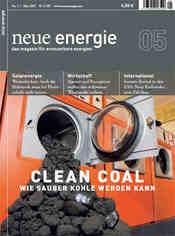 Neue Energie, Cover des Heftes Mai 2007