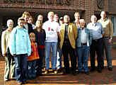 Die örtlichen Ansprechpartner der Bürgerinitiative gegen das Kohlekraftwerk