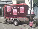 Infostand der BI in Oldenburg