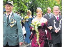Das Schützenkönigspaar 2008