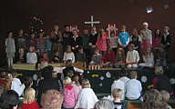 Weihnachtsfeier der Grundschule Wippingen