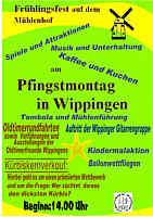Plakat zum Mühlenfest