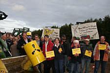 Kundgebung am 11.09.09 in Wippingen