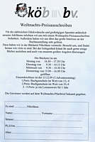 Flyer zum Preisausschreiben der Wippinger Bücherei