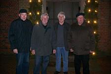 Von links: Josef Stein, Heinz Hempen, Willi Deters und Hermann Ganseforth