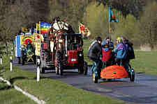 Menschenkette von Krümmel nach Brunsbüttel