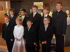 Die Wippinger Erstkomunionkinder 2010
