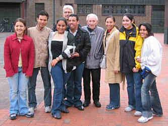 Gäste zum Weltjugendtag 2005 in Wippingen