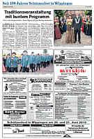 Zur Schützenfest-Sonderseite der Ems-Zeitung vom 19.06.2010