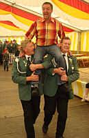 v. l.:  Alfons Freese, Josef Kaiser, Josef Schmunkamp