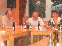 von links: Ludger Haskamp, Hermann Haasken, Bernd Nehe