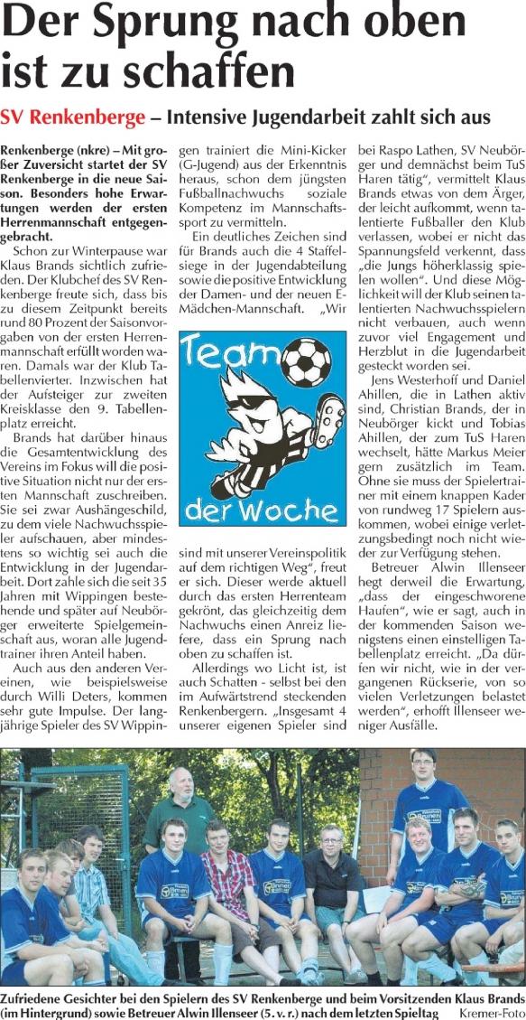 Artikel im EL-Kurier vom 18.07.2010