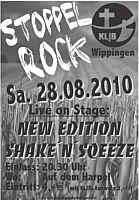 Plakat zum Stoppelrock in Wippingen