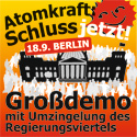 Plakat zur Demo am 18. September in Berlin