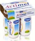 actimel - teuer, aber dafür mehr Zucker
