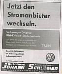 Werbung der Firam Schlömer