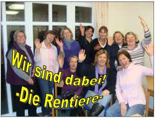 Flyer zum Weihnachtsmarkt am 28.11.2010 in Wippingen
