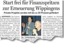 Bericht der Ems-Zeitung vom 11.02.2011