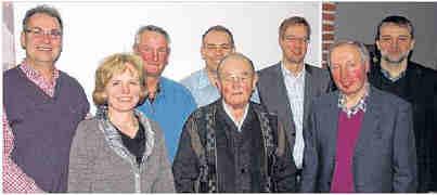 Zufrieden mit der Entwicklung in Wippingen ist die CDU mit (von links) Hermann Gerdes, Regina Kossen, Hermann Hackmann, Gerd Klaas, Heinrich Wester, Hermann Wocken, Klaus Abeln und Heinz-Joachim Schmitz. Foto: Eva Kleinert