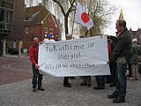 Mahnwache in Papenburg am 21.03.2011