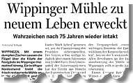 Bericht der Ems-Zeitung vom 17.03.2011