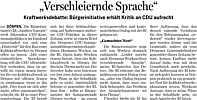 Bericht in der Ems-Zeitung vom 09.09.2011